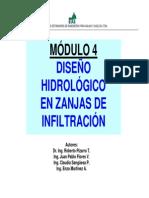 DISEÑO HIDROLÓGICO EN ZANJAS DE INFILTRACIÓN.pdf