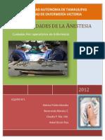 1 Generalidades de La Anestesia