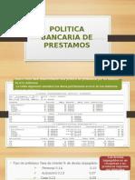 Politica Bancaria de Prestamos( invope I)