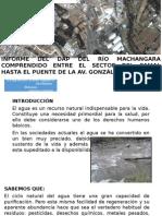 Informe de Prácticas Sobre El Río Machangara (1)