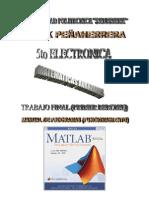 Programacion MatLab Matematicas avanzadas primer parcial