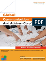 Global Communication and advisers corp