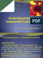 Autoinmunidad e Inmunodeficiencias