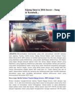 Brosur Toyota Kijang Innova 2016 | CarBay