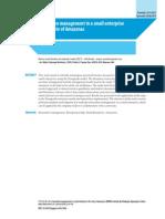 Inovação pequenas empresas Amazonas - em inglês