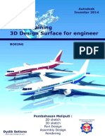 Tutorial Pesawat Autodesk Invento