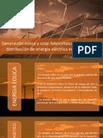 Energia Solar y Eólico Transmision y Distribucion Energia