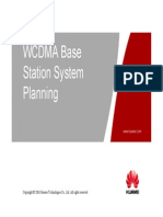 04 OWJ100103 WCDMA Base Station System Planning (With Comment) ISSUE 1