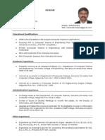MNR Resume