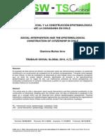 Intervención Social y la construcción epistemológica de la ciudadanía en Chile
