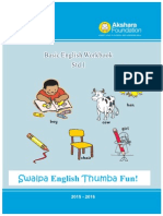 Set 3 - English Workbook - Class 1