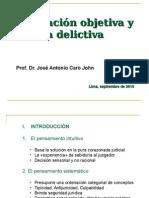 160915_Imputación Objetiva y Autoría-José Antonio Caro Jhon