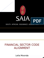 SAIA Alignment Impact