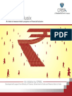 CRISIL-Inclusix_Report on Financial Inclusion Index in India