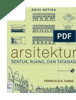 Arsitektur Bentuk, Ruang Dan Tatanan Edisi 3