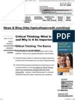 Critical Thinking_ What is It and Why is It So Important_ _ DSST _ Get College Credit