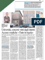 Università, concorsi vinti dagli interni, accuse e repliche