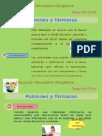 Patrones y formulas