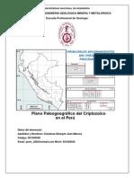 Criptozoico en El Perú