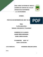 Platica Educativa Sobre El Dengue y Chikungunya
