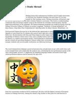 Programs Brochure Study Abroad