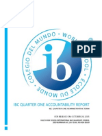 ibc q1 official accountability report