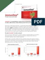 Imunite - flajer