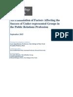 PR Diversity Study
