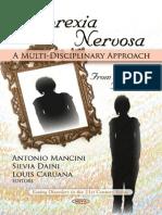 Anorexia Nervosa - A Multi-Disciplinary Approach - A. Mancini (Nova, 2010) WW