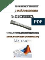 Programacion MatLab Matematicas avanzadas segundo parcial