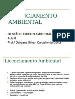 8 - Licenciamento Ambiental.ppt