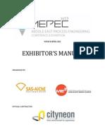 EXHIBITORS_MANUAL - Energy Oil & Gas Media Partner List Contacts