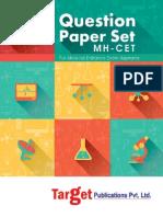 MAH CET Sample Paper 10 (20 Question Papers Set)