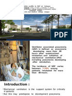 Candida profile in ventilator associated pneumonia