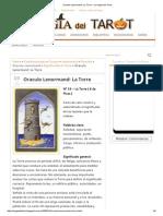 Oraculo Lenormand_ La Torre - La Magia Del Tarot