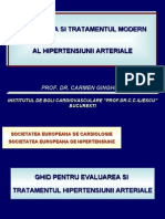 Evaluarea Si Tratamentul Modern Al HTA