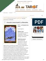 Oraculo Lenormand_ La Montaña - La Magia Del Tarot