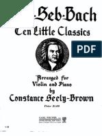 10 Partituras Violino Piano