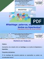 Hashtags e  o Hipertexto