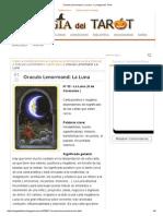 Oraculo Lenormand_ La Luna - La Magia Del Tarot