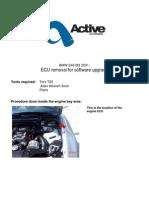 BMW E46 M3 ECU Removal Software