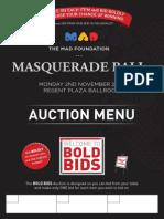#MADBall15 - Bold Bid Auction Items