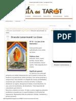 Oraculo Lenormand_ La Llave - La Magia Del Tarot