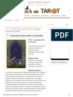 Oraculo Lenormand_ La Estrella - La Magia Del Tarot