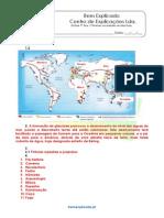 A.1.1 Ficha de Trabalho as Primeiras Sociedades Recolectoras 1 Soluções