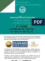 """""""El tesoro escondido de Euskadi, el Aceite de Oliva"""""""