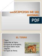 Descripcion de Un Animal