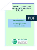 Water Supply and Swereage System Design Report