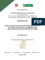 Balizet2010 Rapport