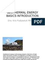 Introduction to Geothermal Energy